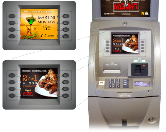 Advertising for your atm
